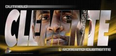 Roberto Clemente Small Framed Print