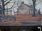 Stone Cottage Canvas