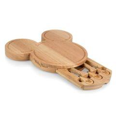 Wood Mickey Head Cheese Board