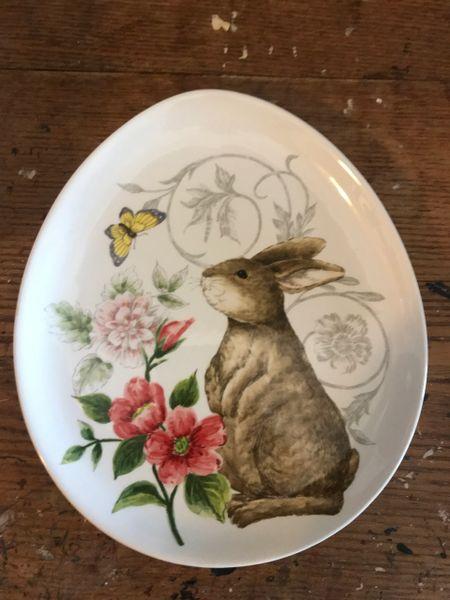 Bunny Egg Plate
