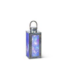 Galvanized Fireworks Lantern