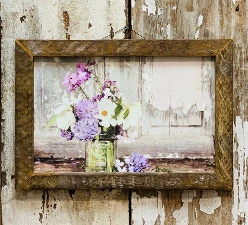 Spring Bouquet Tobacco Lath Frame