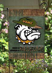 USMC Bulldog Garden Fla