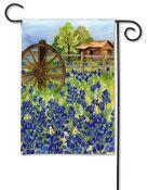 Bluebonnets Garden Flag