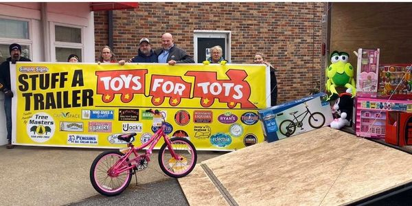 Toys for Tots Stuff a Trailer Event 2019