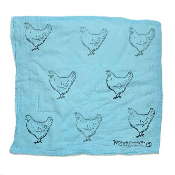 Chicken- washcloth