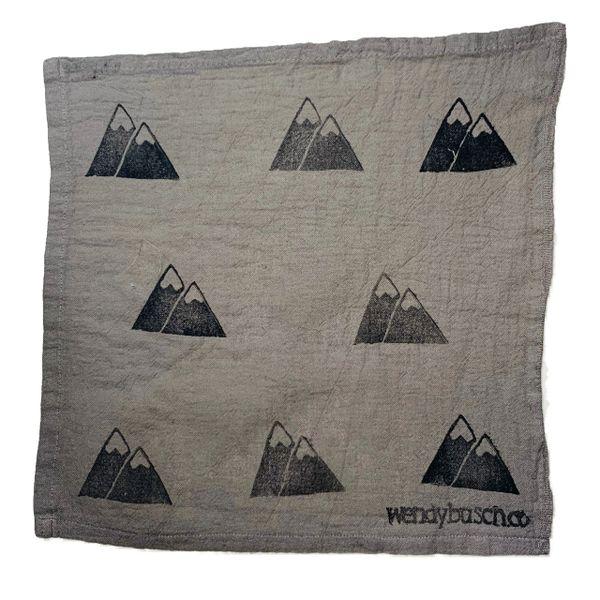 Mountain- washcloth