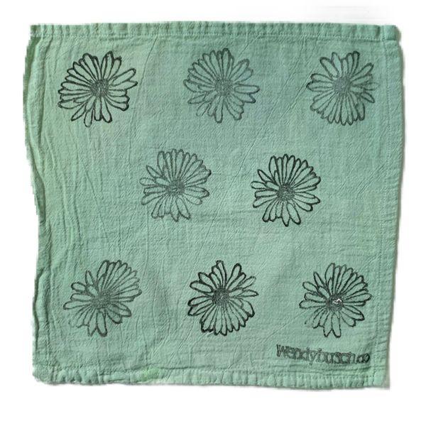 Daisy- washcloth