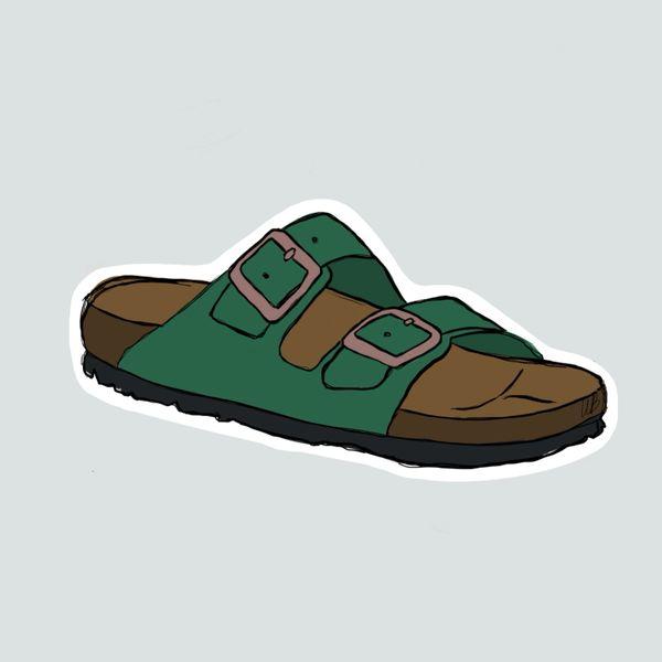 Birkenstock- green