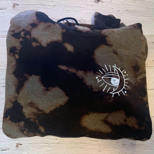 Custom Astrology hoodie- size XLarge