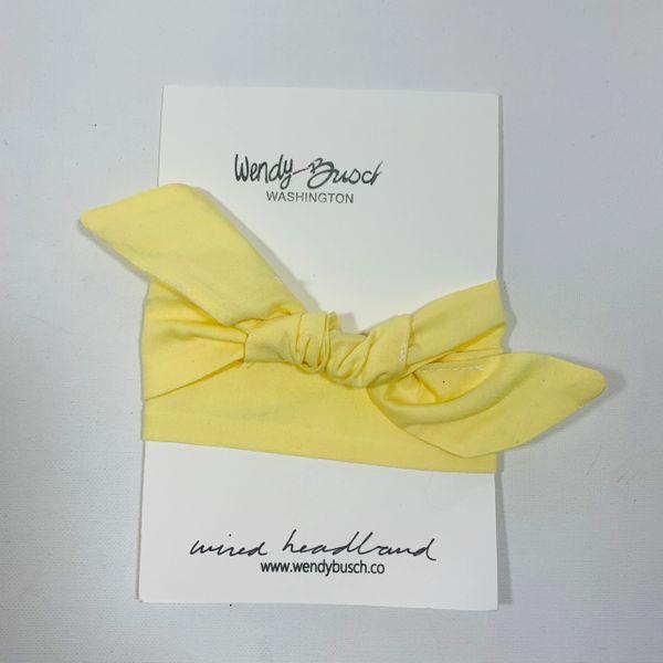 Light yellow solid