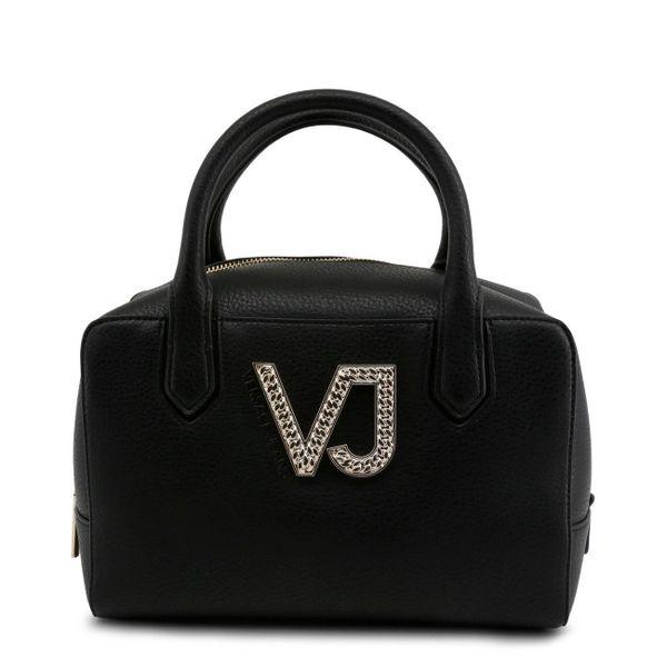 ad8730e0 Womens Designer Bag Versace Jeans E1VRBBC3_70034 Handbag Logo Black Eco  Leather