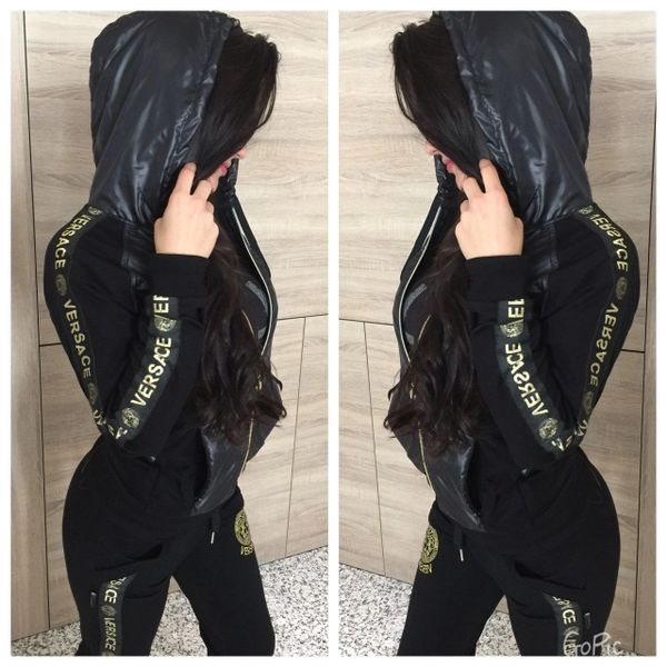 New with tags: original packaging Womens Versace Tracksuit