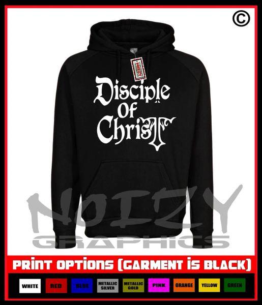 Disciple Of Christ Cross Hoodie