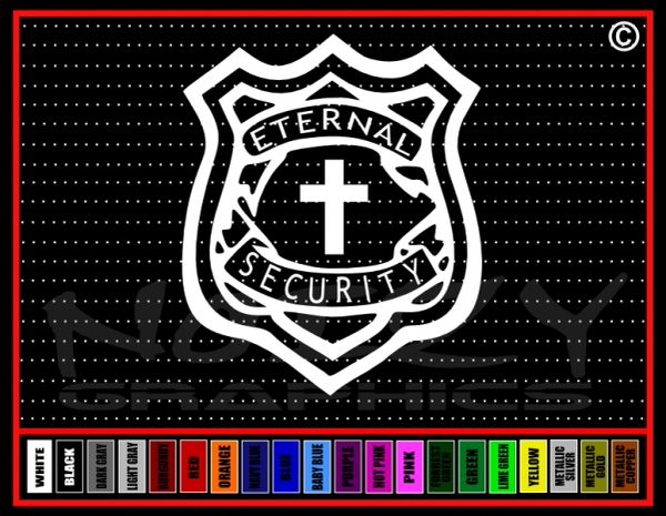 Eternal Security Vinyl Decal / Sticker