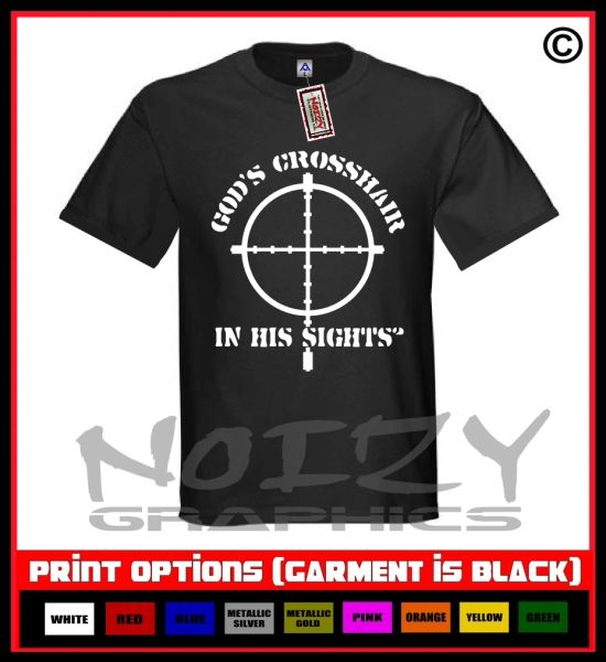 God's Crosshair (Cross) T-Shirt S-5XL