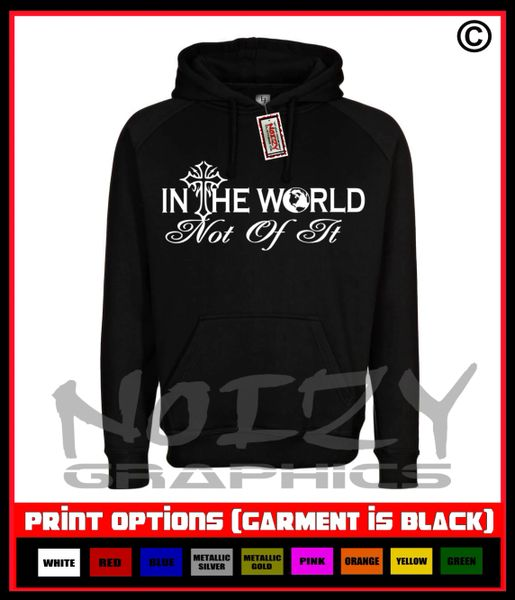 In The World / Not of it Hoodie