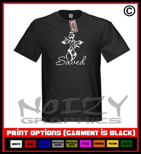 Saved Cross #1 T-Shirt S-5XL
