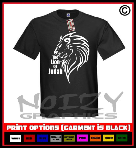 The Lion Of Judah T-Shirt S-5XL