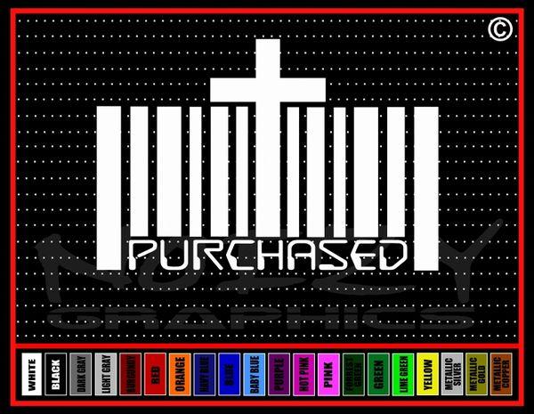Purchased Vinyl Decal / Sticker