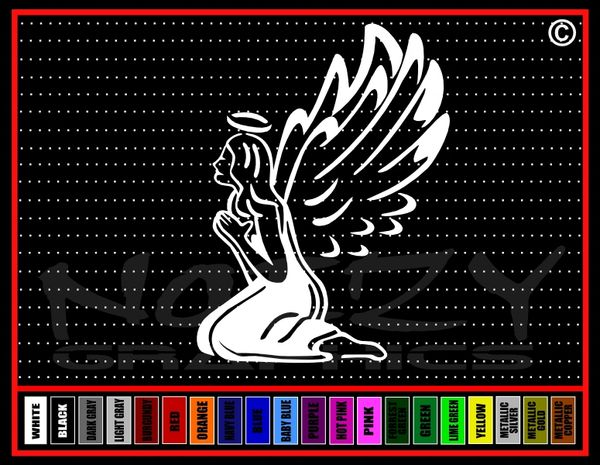 Angel #1 Vinyl Decal / Sticker