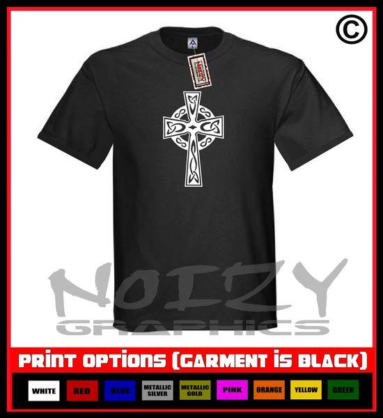 Cross #18 Celtic T-Shirt S-5XL