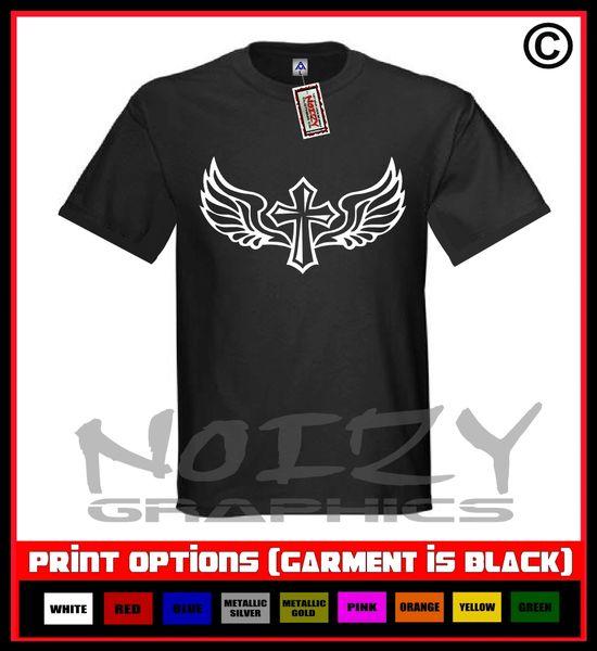 Cross Wings #5 T-Shirt S-5XL