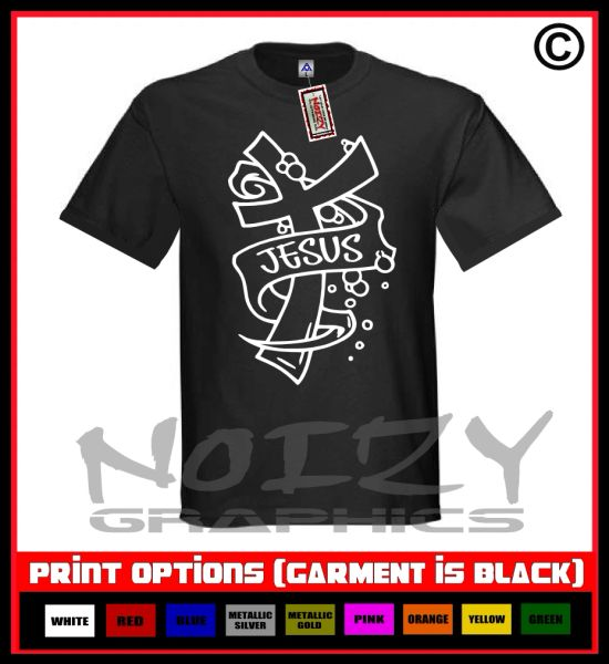 Jesus Cross #3 T-Shirt S-5XL
