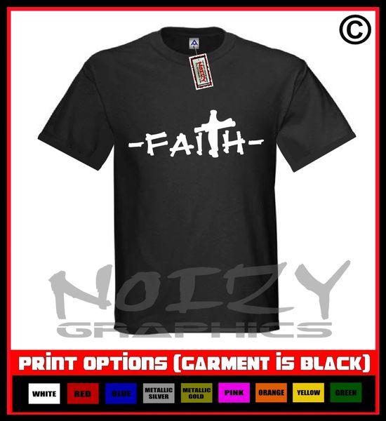 Faith Cross #2 T-Shirt S-5XL