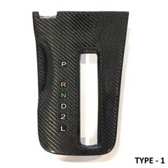 Carbon Fiber Auto Shifter Bezels for Lexus SC300 & SC400