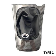 Corn Carbon - Carbon Fiber Manual Shifter Bezels for Z30 Toyota Soarer