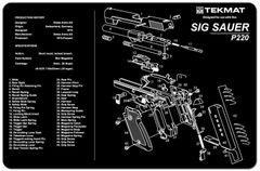 Sig Sauer P220 TekMat Cleaning Mat