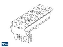 Rear Sight Mount For Glock® Pistol
