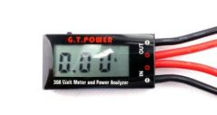 G.T. POWER LCD 30A MINI WATT METER