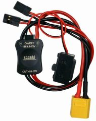 High Current Electronic Switch Built-in LED Indicator With XT60 Plug