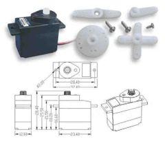KingMax 2.25g Plastic Geared Digital Micro Servo