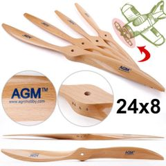 AGM 2 Blade Wooden Propeller