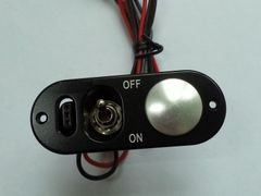 Aluminum Heavy Duty Single Switch with Fuel Dot and Charge Port