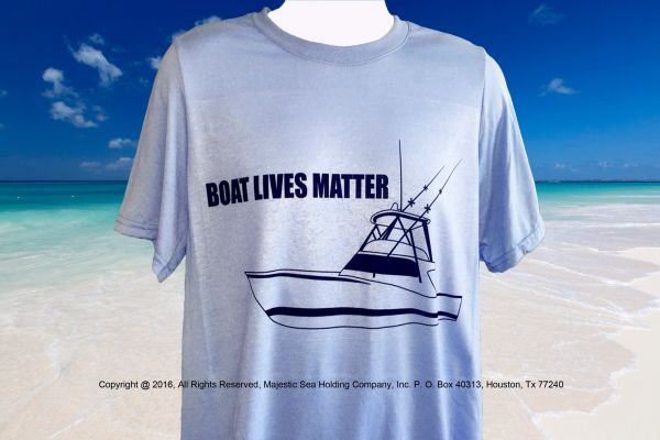 Boat Lives Matter T Shirt