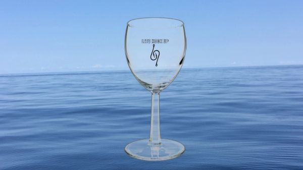 Saltwater Stud Wine Glass