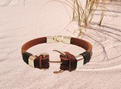 Saltwater Stud Anchor Bracelet