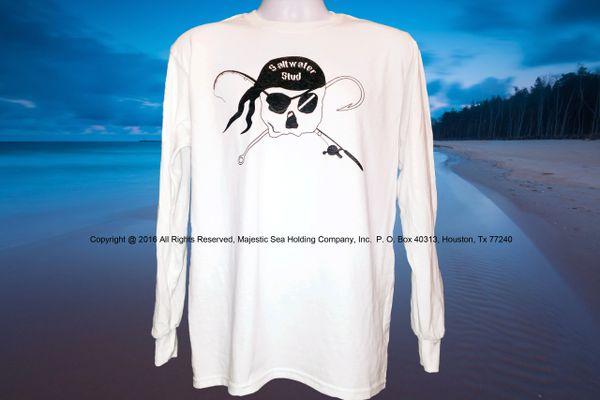 Stud Long Sleeve Pirate Shirt