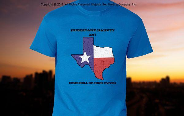"Hurricane Harvey ""Texas Strong"" Shirt"