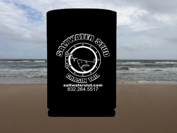 Saltwater Stud Black Koozie