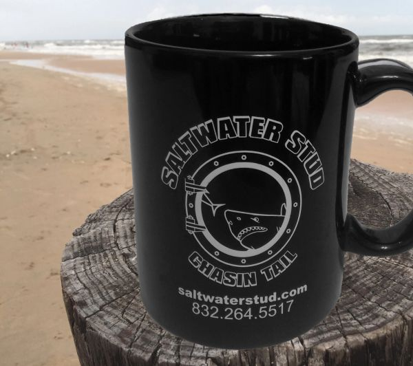 Saltwater Stud Black Coffee Cup