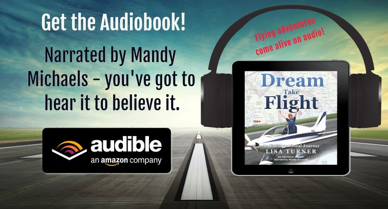 Lisa Turner's book is now available in Audible!