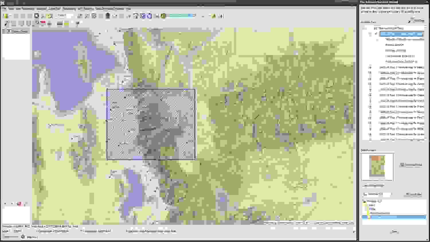 USGS Data Wizard in Simple GIS Client