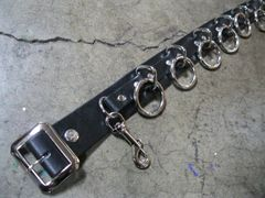 369B 9 Ring Bondage Belt
