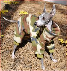 Camouflage Dog Jammies