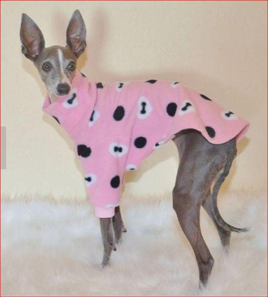 Pretty in Pink Dog Sweater
